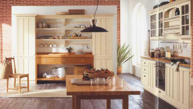 Cucina 13 - Cucina in stile inglese fine \'800 realizzata con ...