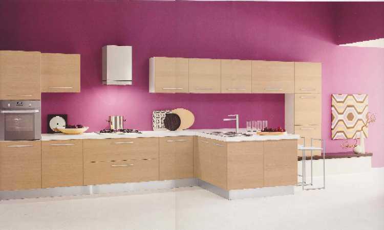 cucina moderna in stile minimalista realizzabile in diverse soluzioni modulari con la possibilit di comporre insieme