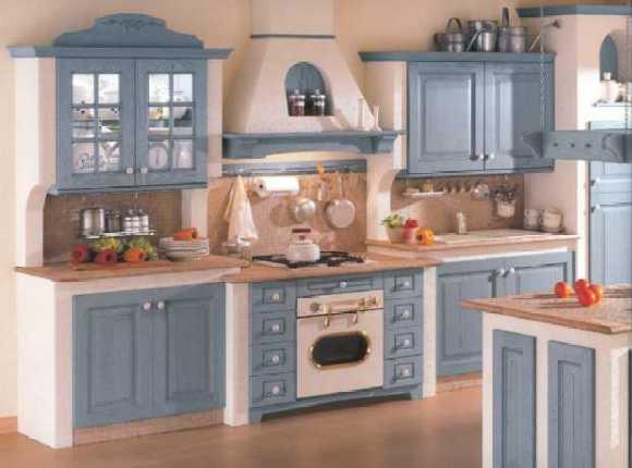 Cucina 17 - Cucina realizzata con anta in legno di frassino con ...