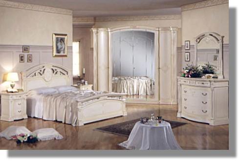 Camera 6 camera legno bianco patinato - Rubinetti bagno classici ...